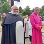 Bishop Declan and Father Leo