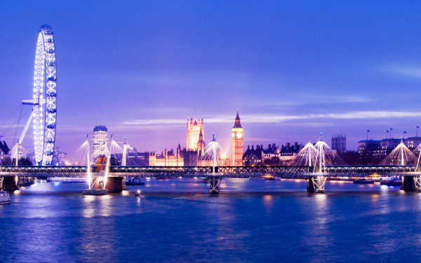 London for PMP certification