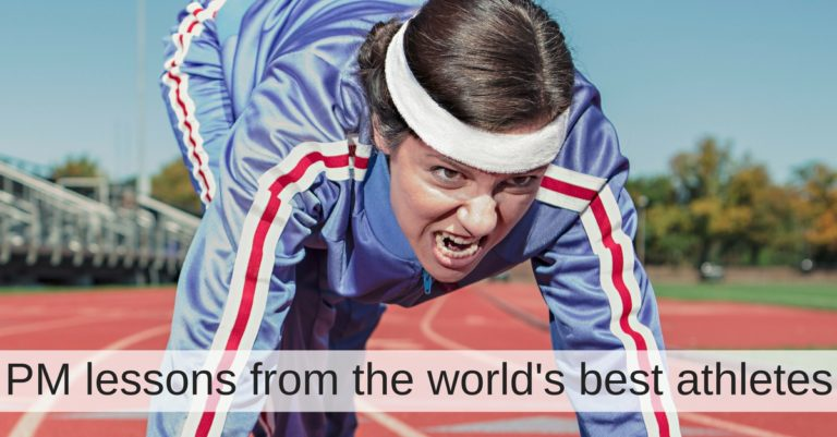 Six lessons that IT Project Managers can learn from the world's best athletes
