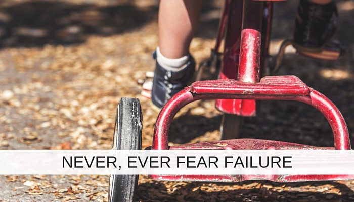 Never, ever fear failure. Seven powerful lessons you can learn when your IT project fails