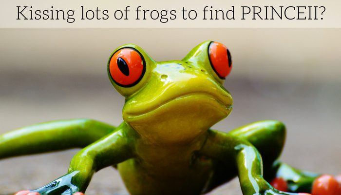 Kissing lots of frogs is no way to find your PrinceII – why specialist IT recruitment has the edge