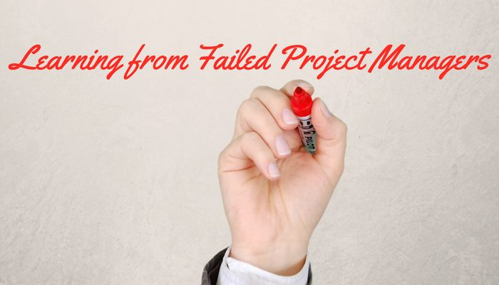How the experience of failed project managers could be the key to developing a great one?