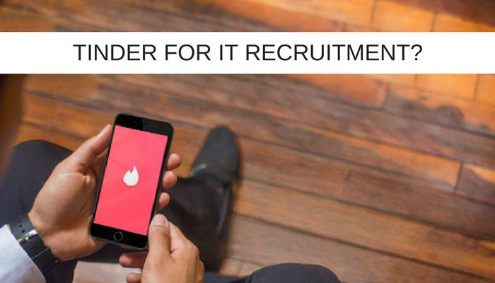 tinder for it recruitment