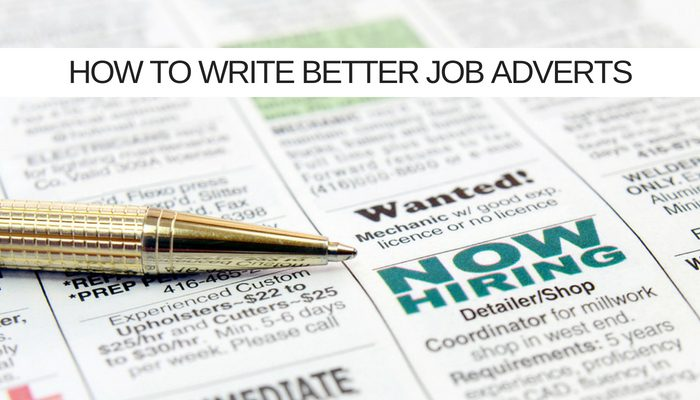 If 8 out of 10 job ads ARE badly written. How to be one of the other two