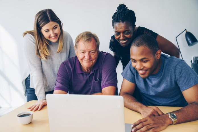 group using computer